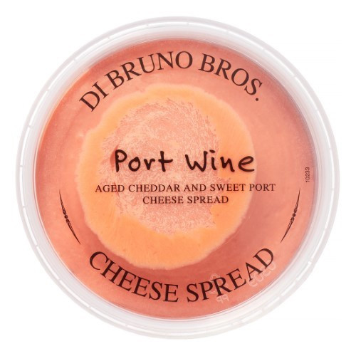 Di Bruno Port Wine Cheddar Spread, 7.6 Oz