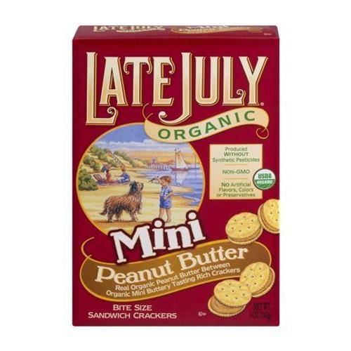 Organic Mini Bite Size Sandwich Crackers