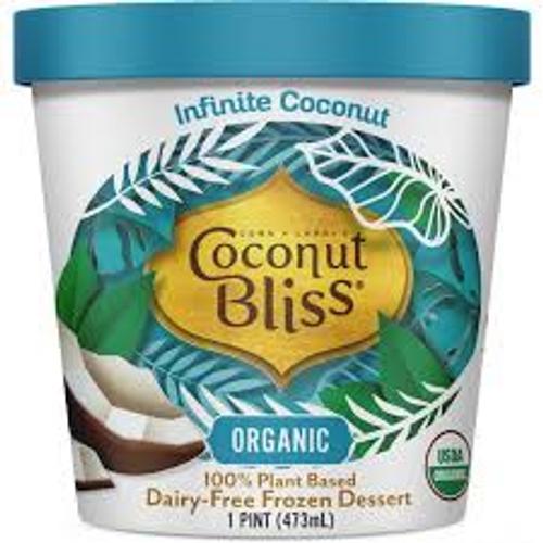 Organic Infinite Coconut 100% Plant Based Dairy-Free Frozen Dessert, Infinite Coconut