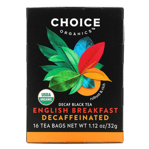 Decaffeinated English Breakfast Tea ORG
