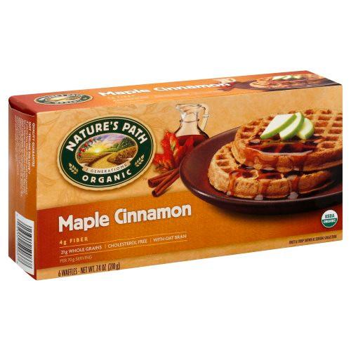 Maple Cinnamon Waffles ORG