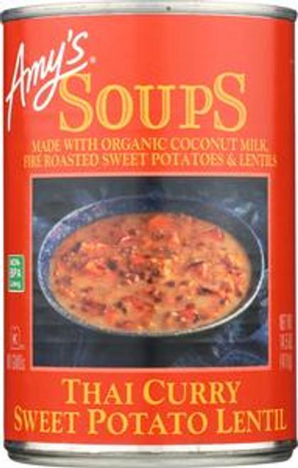 Thai Curry Sweet Potato Lentil Soup, Vegan, 14.5-Ounce