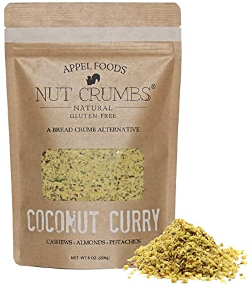 Keto Nut Crumbs Coconut and Curry