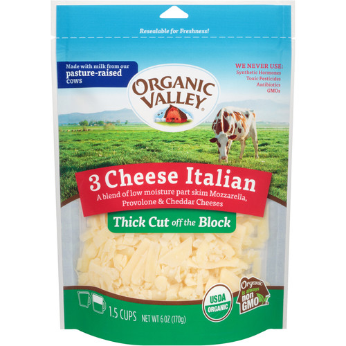 Italian 3 Cheese Blend, Shredded