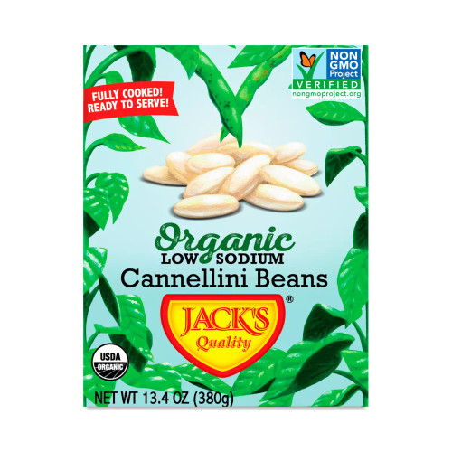 Cannellini Beans (Low Sodium) ORG