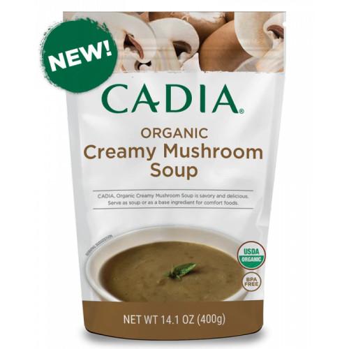 Creamy Mushroom Soup ORG