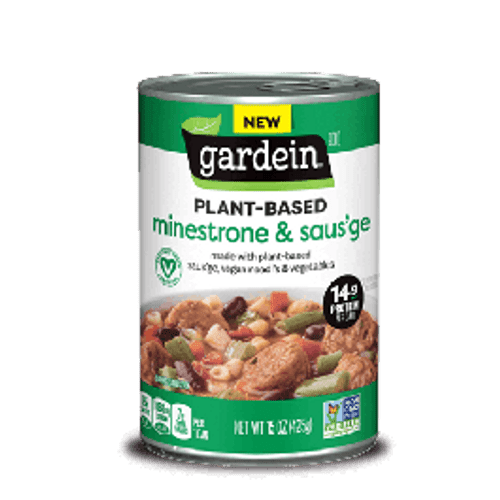 Plant-based Minestrone & Saus'ge