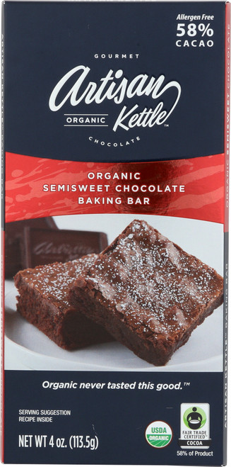 Semi-Sweet Chocolate Baking Bar ORG