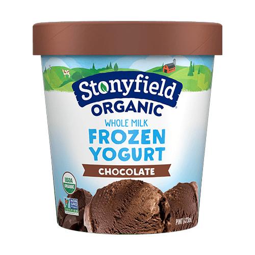 Milk Chocolate Frozen Yogurt  ORG