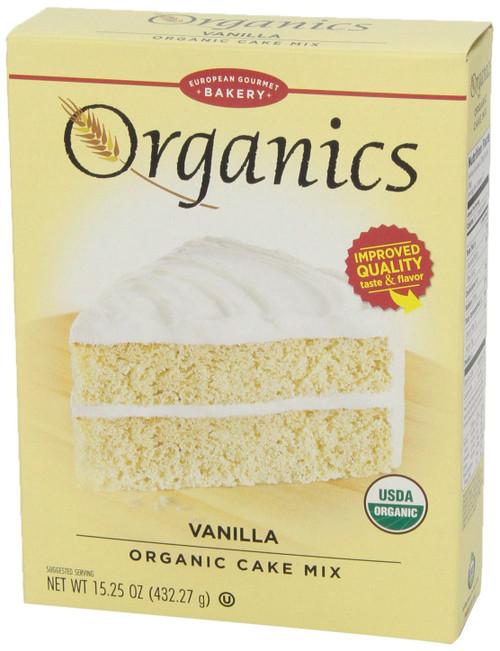 Vanilla Cake Mix ORG
