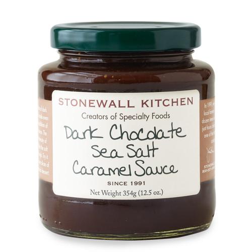 Dark Chocolate Sea Salt Caramel Dessert Topping