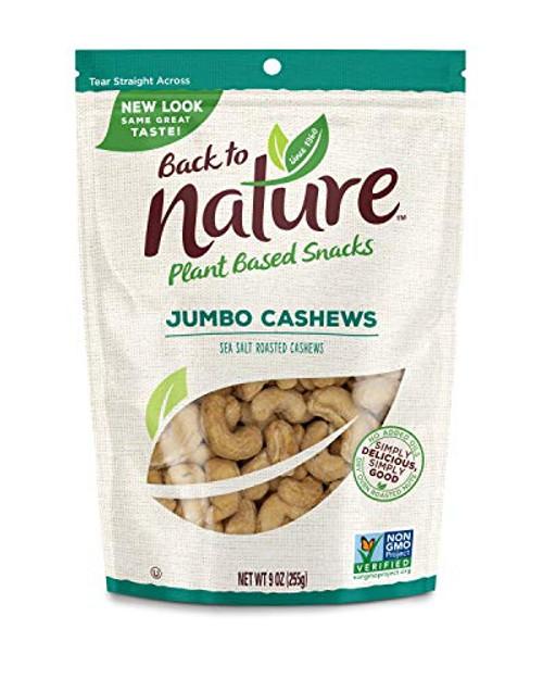 Roasted Jumbo Cashews w/ Sea Salt