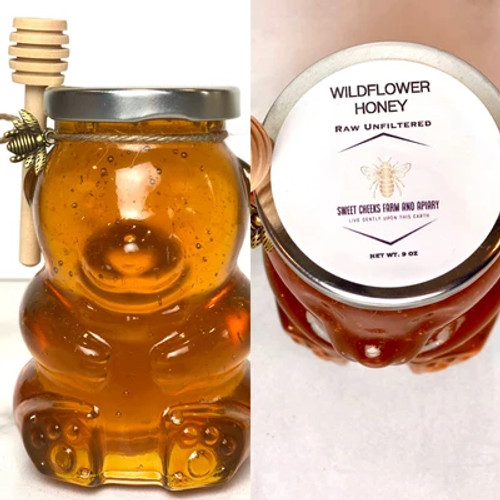 Wildflower Honey Raw and Unfiltered