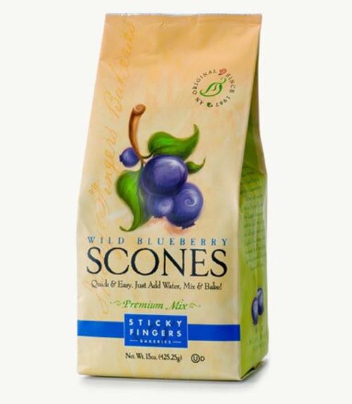 Wild Blueberry Scones Mix