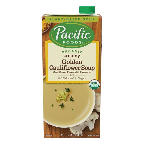 Golden Cauliflower Soup ORG