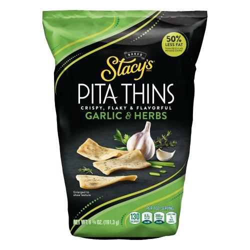 Garlic & Herb Pita Thins