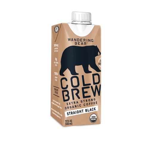 Cold Brew Extra Strong Coffee Stright Black