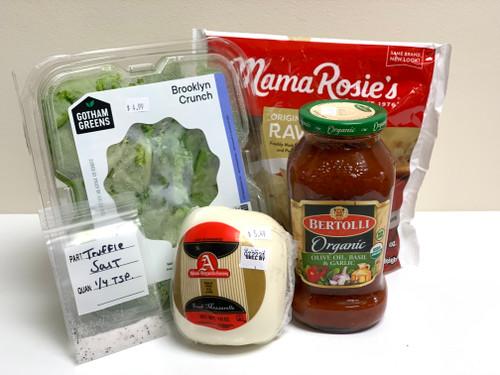 "Local ""Busy Mom"" Lasagna and Salad"