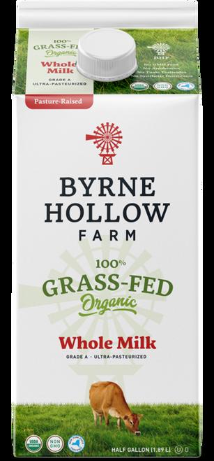 Whole Milk Grass Fed ORG