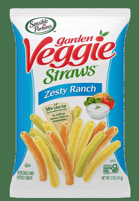 Garden Veggie Straws Zesty Ranch