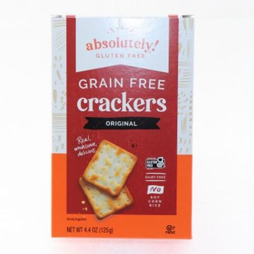 Grain Free Crackers GF