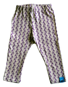 Nettle & Wolf Leggings - Purple Swallow (LAST ONE LEFT - SIZE 0-3M)