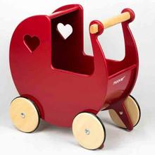 Moover Toys - Doll's Pram Red
