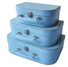 Mini Nesting Suitcases - Light Blue [PRICED FROM $20]