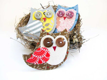 Tinch Studio Magnets - Single Baby Owl