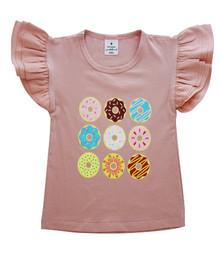 Curious Wonderland - Donut Flutter Tee - Pink