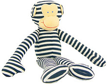 Alimrose Monkey Rattle - Navy (OUT OF STOCK)