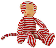 Alimrose Monkey Rattle - Red (OUT OF STOCK)