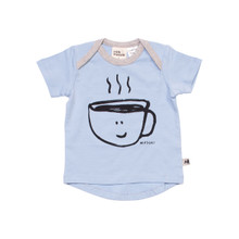 Milk & Masuki Short Sleeve Tee - I Need Coffee (ONLY SIZE 0-3 & 3-6 MONTHS LEFT)