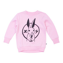 Milk & Masuki Crew Neck Jumper - Rabbit Rockstar (LAST ONE LEFT - SIZE 5 YEARS)