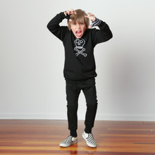 Little Flock of Horrors - Crew Fleecey - Skullywag [FROM $65] (ONLY SIZE 0-3M & 3-6M LEFT)