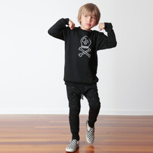 Little Flock of Horrors - Lowdown Trackies - Geo Triangle (LAST ONE LEFT - SIZE  0-3M)