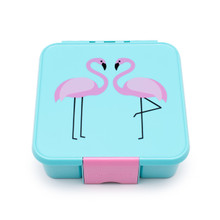 Little Lunch Box Co - Bento Three - Flamingo