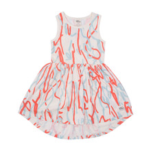 Milk & Masuki Singlet Dress - Twombly (LAST ONE LEFT - SIZE 3 YEARS)