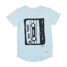 Milk & Masuki Tee - Mixed Tape (LAST ONE LEFT - SIZE 3 YEARS)