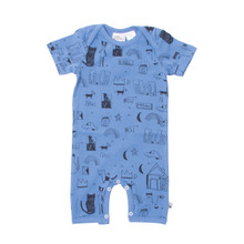 Milk & Masuki Short Sleeve Button All - Basquait Meterage (LAST ONE LEFT - SIZE 0-3M)