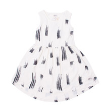 Milk & Masuki Singlet Dress - Different Strokes (LAST ONE LEFT - SIZE 3 YEARS)