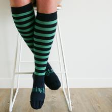 Lamington Woman's Merino Socks - Pier