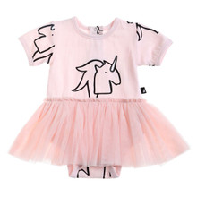 Anarkid Tutu Bodysuit Dress - Unicorn