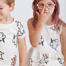 Anarkid Sleevess Dress - Unicorn