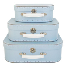 Alimrose Suitcase Set - Pale Blue (OUT OF STOCK)