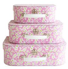 Alimrose Suitcase Set - Blossom Pink