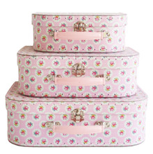 Alimrose Suitcase Set - Floral Medallion (OUT OF STOCK)