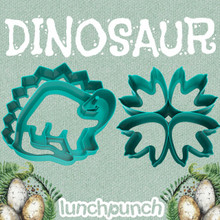 Lunch Punch (2 set) - Dinosaur