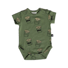 Anarkid Short Sleeve Bodysuit - Hot Chips