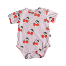 Anarkid Short Sleeve Bodysuit - Cherry